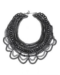BaubleBar | Black The Courtney Bib | Lyst