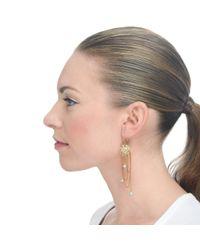 Lulu Frost - Metallic New Coquille Pearl Drop Earring - Lyst