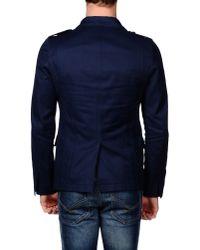 Gazzarrini - Blue Blazer for Men - Lyst
