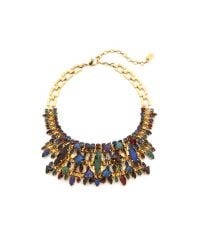 Erickson Beamon | Multicolor Hyperdrive Statement Necklace - Jewel Multi | Lyst