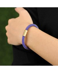 Carolina Bucci - Blue Cobalt Twister Band Bracelet - Lyst