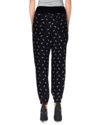 Boy by Band of Outsiders - Black Casual Trouser - Lyst
