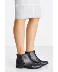 Urban Outfitters - Black Della Side Buckle Boot - Lyst
