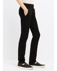 VINCE | Black Slim Trouser | Lyst