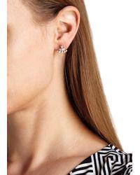 Vivienne Westwood   Metallic Oona Bas Relief Stud Earrings   Lyst