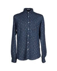 Roy Rogers - Blue Shirt for Men - Lyst