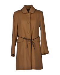 Hartford - Brown Coat - Lyst