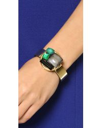 Marni | Green Horn Bracelet - Emerald | Lyst