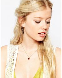 Bill Skinner - Metallic Wild Berry Sparkle Pendant Necklace - Lyst