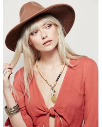 Free People | Natural Levita Layering Necklace | Lyst