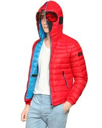 Ai Riders On The Storm | Red Total Zip Up Light Weight Down Jacket for Men | Lyst
