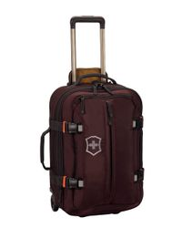 Victorinox | Purple Ch-97 2.0 22in Expandable Wheeled Carry-on for Men | Lyst
