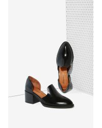 Jeffrey Campbell - Black Appeal Leather Loafer - Lyst
