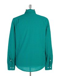 Original Penguin | Green Plaid Sportshirt for Men | Lyst