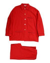 Derek Rose | Red Sleepwear for Men | Lyst