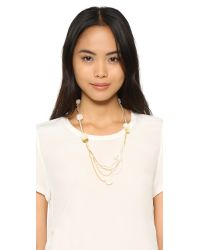 Fiona Paxton - Natural Viola Necklace - Lyst