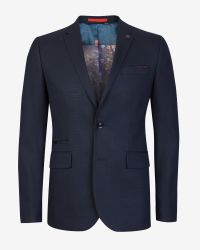 Ted Baker - Blue Birdseye Jacket for Men - Lyst
