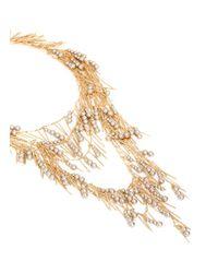 Assad Mounser Metallic 'Whisper' Fringe Pearl Necklace