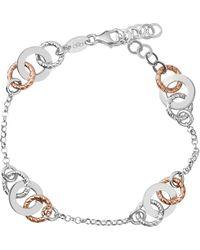 Links of London | Metallic Aurora Sterling Silver Link Bracelet | Lyst