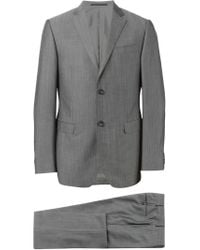 Z Zegna - Gray Two Piece Suit for Men - Lyst