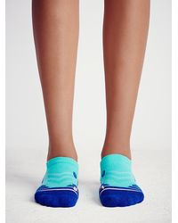 Free People - Blue Let's Move Running Sock - Lyst