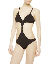 La Perla | Black Non-wired Swimsuit | Lyst