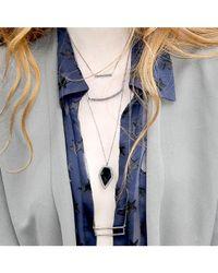 Adornia - Metallic Champagne Diamond Houston Necklace - Lyst