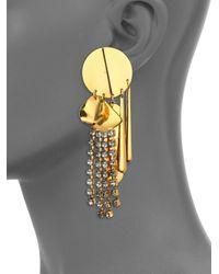 Lizzie Fortunato | Metallic The Souk Statement Drop Earrings | Lyst