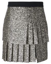 Emanuel Ungaro | Black Pleated Skirt | Lyst