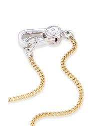 Marc By Marc Jacobs | Metallic Lock & Key Necklace - Multicolor | Lyst