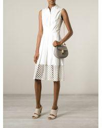 Chloé | Gray Drew Cross-Body Bag | Lyst