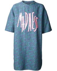 Julien David | Blue Paisley Madness Graphic Tshirt for Men | Lyst