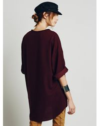 Free People | Purple Make It Happen Po | Lyst