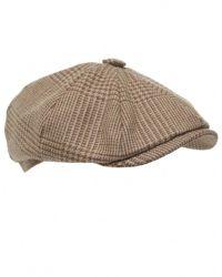 Jules B - Brown Kirkton Tweed Flat Cap for Men - Lyst