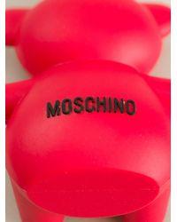 Moschino - Red Bear Shape Usb Key - Lyst