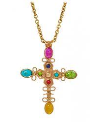 Sylvia Toledano | Multicolor Cross Necklace | Lyst