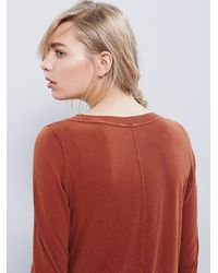 Free People | Brown We The Free Golden Arrow Tee | Lyst