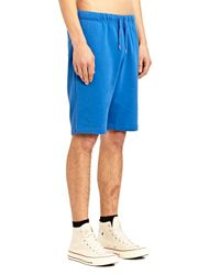 Sunspel - Blue Mens Loopback Shorts for Men - Lyst