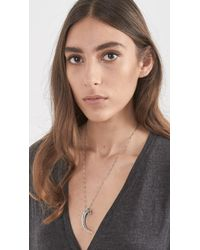 Pamela Love - Metallic Eagle Claw Pendant - Lyst
