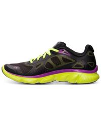 Under Armour - Black Women'S Micro G® Pulse Storm Running Sneakers From Finish Line - Lyst