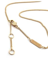Marc Jacobs | Metallic Music Star Charm Necklace | Lyst