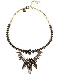 Ca&Lou | Metallic Alexa 24Kt Gold Plated Swarovski Necklace | Lyst