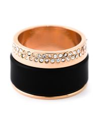 Vita Fede | Black 'cigar' Ring | Lyst