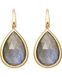 Astley Clarke | Metallic Stilla Labradorite Large Drop Earrings | Lyst