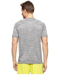 Calvin Klein - Gray Performance Crew-neck Jersey T-shirt for Men - Lyst