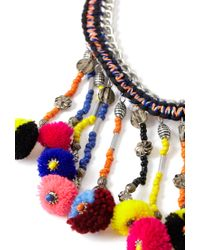Forever 21 | Multicolor -inspired Statement Necklace | Lyst