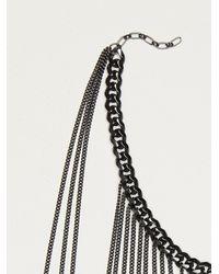 Free People - Black Dani Upper Body Chain - Lyst