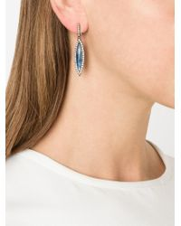 Kimberly Mcdonald | Blue Diamond Pavé Kyanite Drop Earrings | Lyst