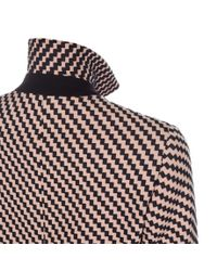 Paul Smith | Natural Textured Peach And Black Epsom Coat | Lyst