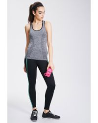 Forever 21 - Gray Active Seamless Athletic Tank You've Been Added To The Waitlist - Lyst